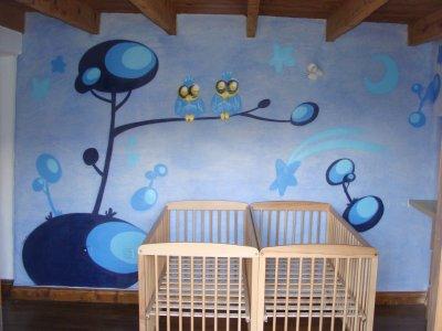Deco chambre d enfants mon nouveau site www lalunart fr - Deco chambre d enfants ...
