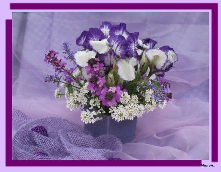 ..Pour mon amie Tinon Joyeux  Anniversaire bisous Manon..