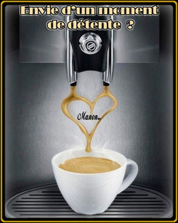 ..Qui  veux  un   bon   café  ......