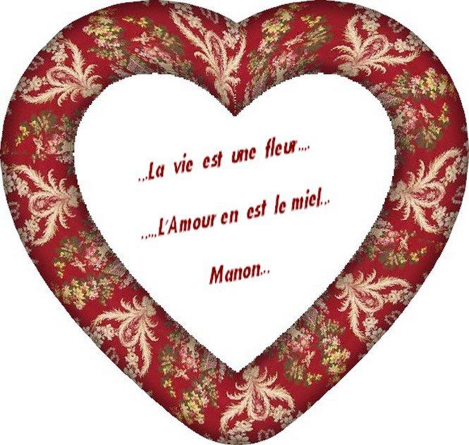 ..Belle citations de moi  Manon pour vous...Tendre  bisous...