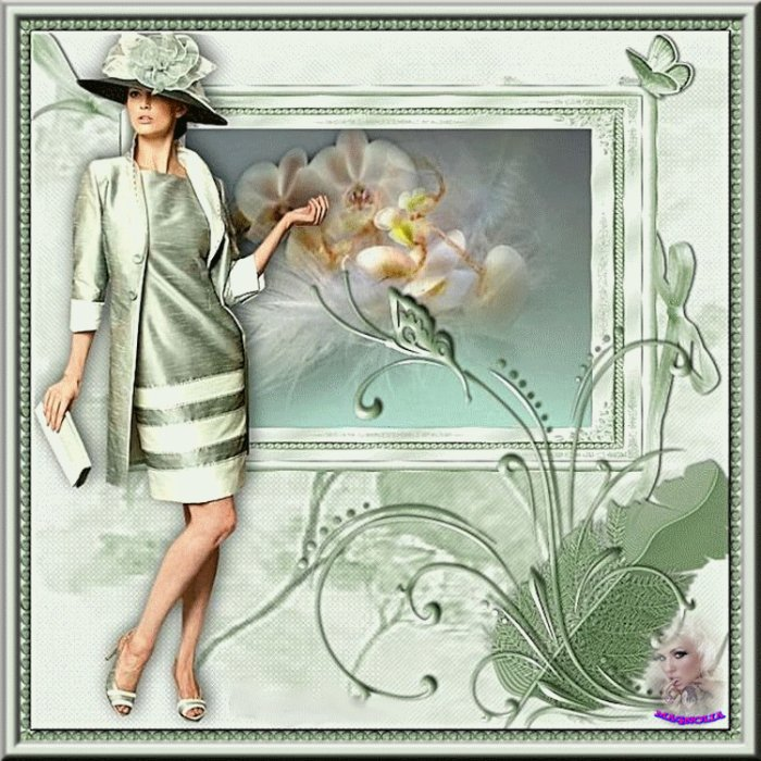 ..Créations de mon  ami(e)  .......Magnolia...........Merci