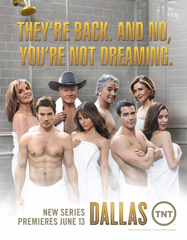 Nova série favorita: Dallas