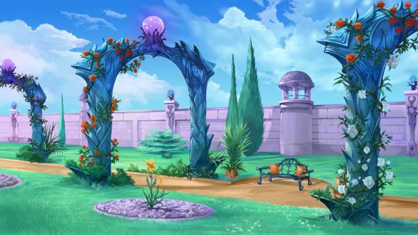 Le monde d'Eldarya ~ Le Jardin