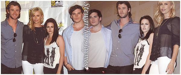 - EVENT Kristen sera le 26 janvier à la nouvelle édition du show Unscripted de Moviefone pour The Snow White And The ______ Hunstman : enfin des news et pour notre plus grand bohneur ♥ -