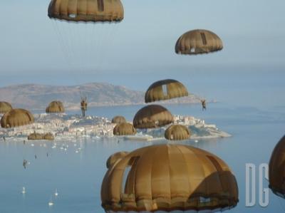 saut en parachute calvi