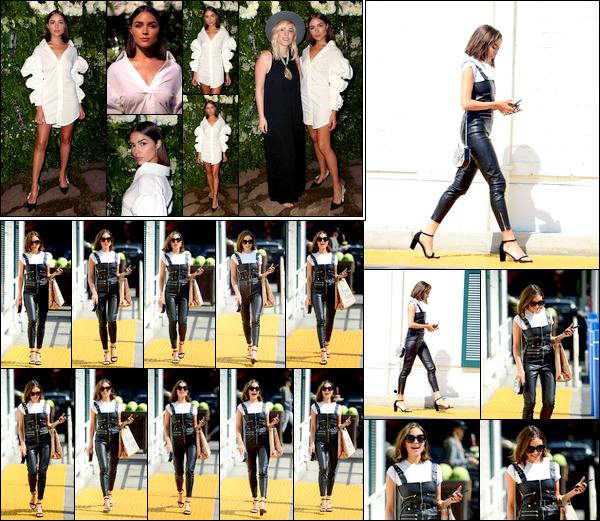 . 02/08/2017: Olivia Culpo était invitée à la Maison St-Germain LA debut au Houdini Estate, à Los Angeles.  Plus tôt dans la journée, notre jolie Olivia a été vue faire un petit tour à la Bristol Farm à Beverly Hills. Olivia est super jolie dans cette tenue. .