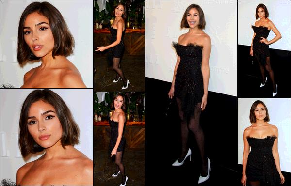 . 06/09/2017: Olivia Culpo  était présente à l'event ELLE, E! & IMG Host a Celebration of Personal Style NYFW Kickoff party à NYC.  Bien évidemment, Olivia à la fashion week pouvait juste simplement être splendide. Je la trouve ravissante et sa robe lui va comme un gant! .