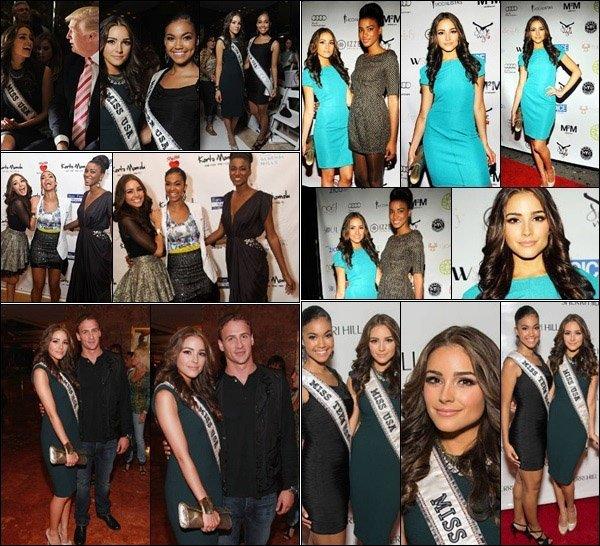 .  07/09/12: Olivia  était rendu pour la saison de la Fashion Week pour Evening Sherri Hill  dans un quartier de New York City !  Je trouve que Olivia C est vraiment sublime dans cette tenue, en tout cas je donne un très beau top pour notre Miss Usa - et vous en pensez quoi ? TOP !
