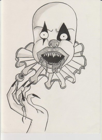 Dessin n 44 ydderf blog de dessin clo clo - Dessin horreur ...