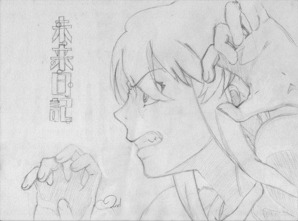 Dessin n°66 Gasai Yuno