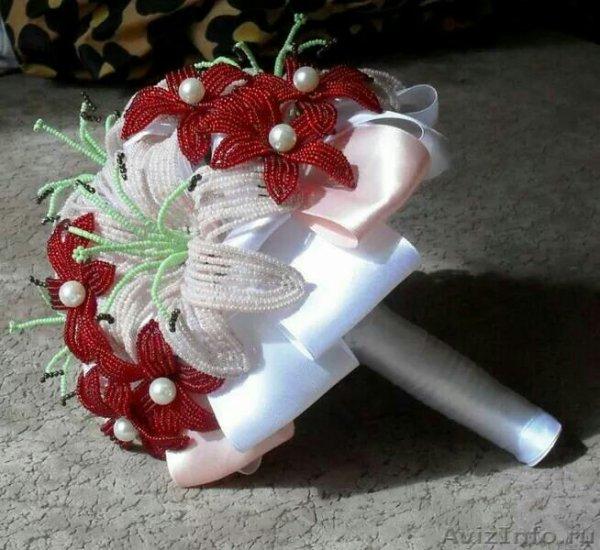 bouquet rose et lys