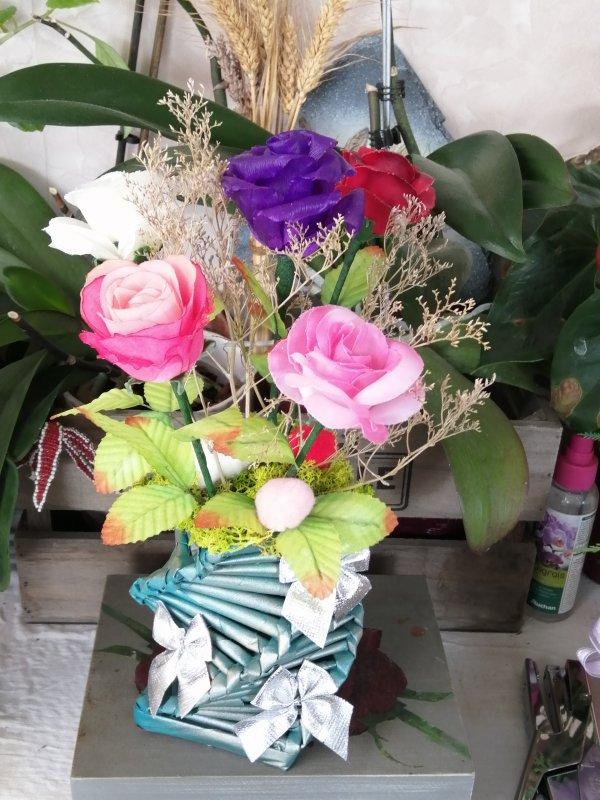 bouquet de roses parfumé
