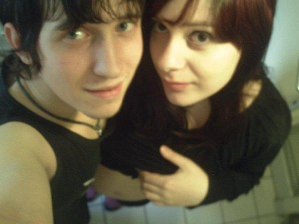 moi et mon homme <3 <3