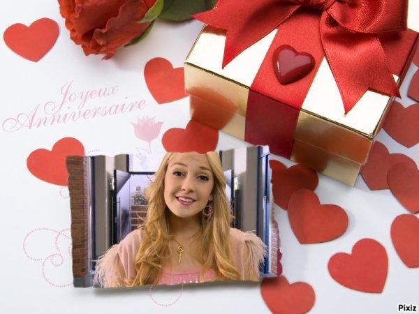 """""""Feliz Cumpleaños Mechi""""(qui veux dire joyeux anniversaire et je te le dis de tout mon coeur)"""