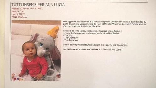 Solidarité pour Ana et sa famille
