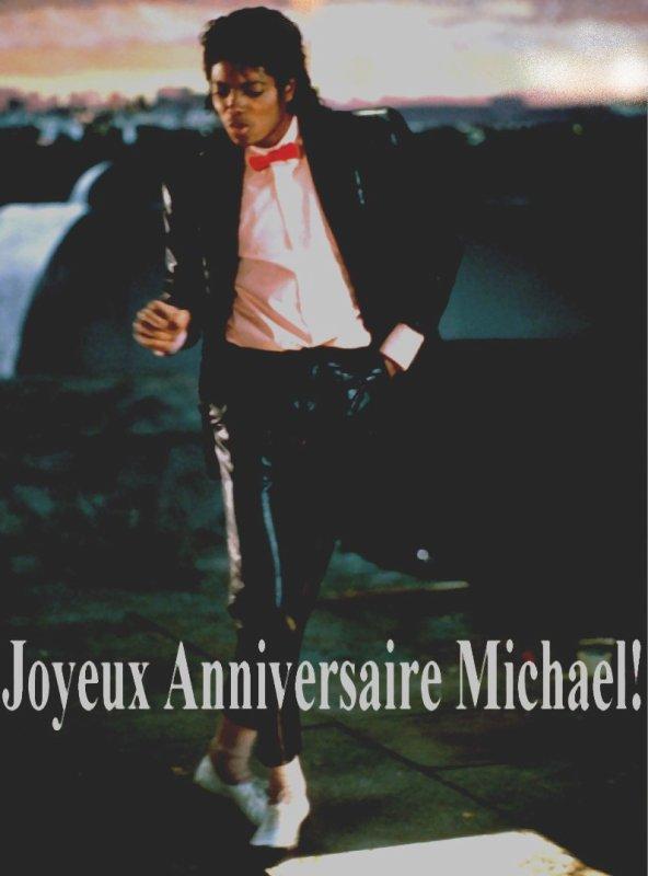 Bonne anniversaire Michael!!
