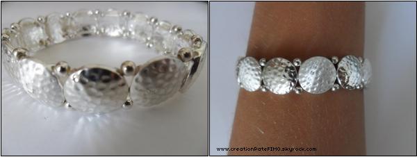 .~ Bracelet ronds argent - [ www.creationPateFIMO.skyrock.com ] .