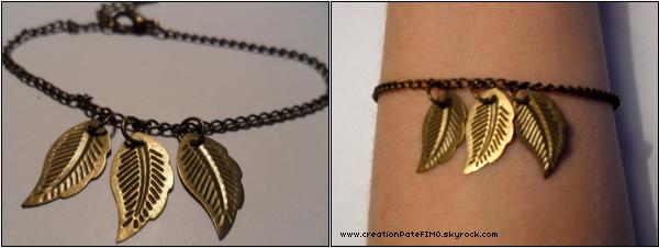 .~ Bracelet vintage plumes - [ www.creationPateFIMO.skyrock.com ] .