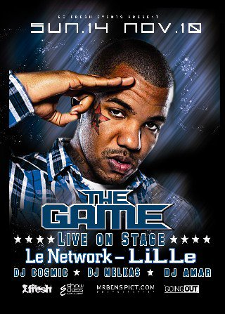 THE GAME au NETWORK  a LILLE