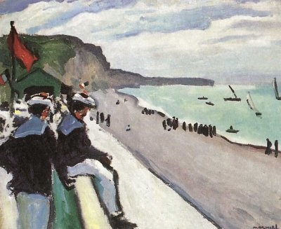 La plage de Fécamp