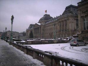 Neige sur Bruxelles