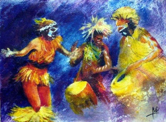 La nuit des dieux (Impresssions africaines)