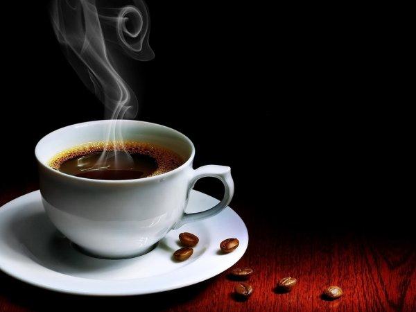 Un café noir fort