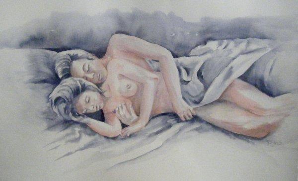 Quand nous dormions ensemble ma mie