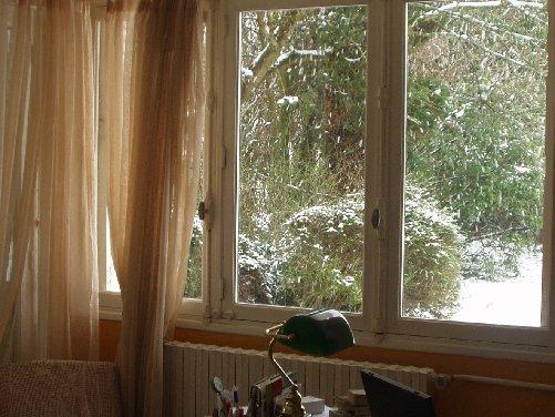 Montignies sous la neige