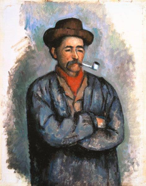 Un fumeur de pipe