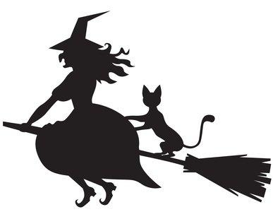 Le chat de la sorcière