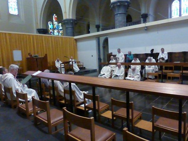 A l'abbaye de Maredsous