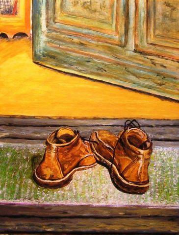 Les souliers du mort - Anecdote montagnarde.