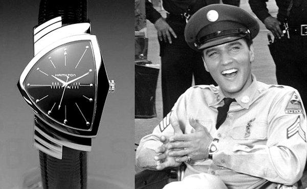 La montre du King.