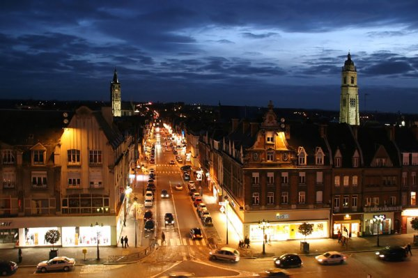 Cambrai by night