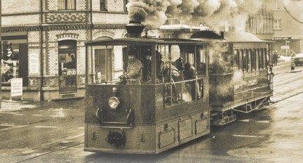 Le dernier tramway à vapeur