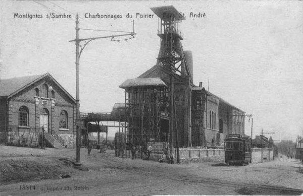 Emeute au charbonnage du Poirier.