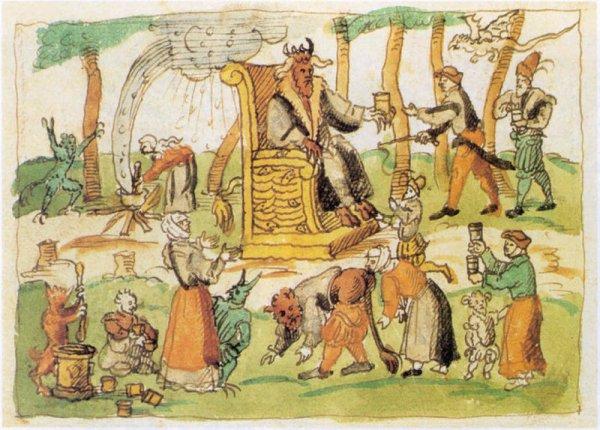 Une histoire de sabbat de sorcières à Montigny.