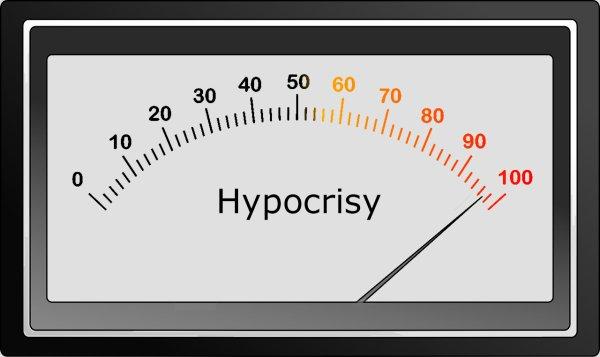 Le bal des hypocrites.
