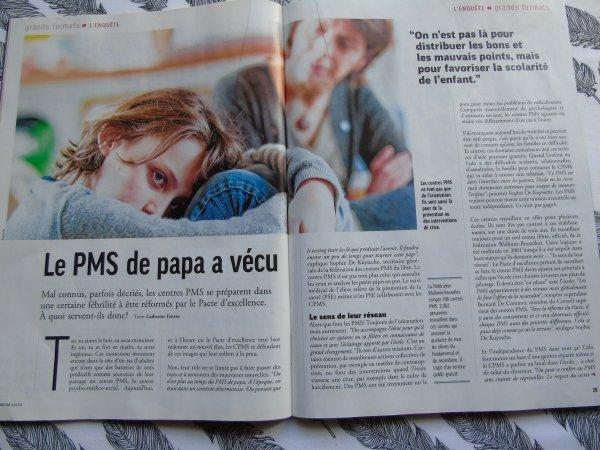 Les CPMS (article de Moustique)
