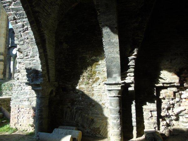 A l'abbaye de Villers-la-Ville