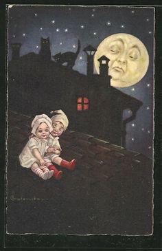 Brunot et la lune