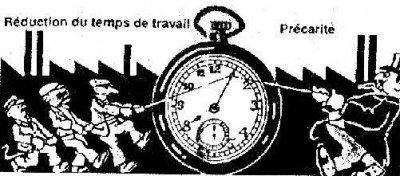 Réflexions autour de la réduction du temps de travail.