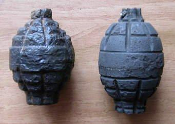 Un pelotari lanceur de grenades