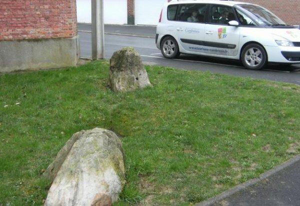 Les pierres jumelles de Cambrai