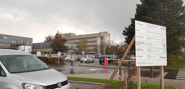 Les hôpitaux à Montignies