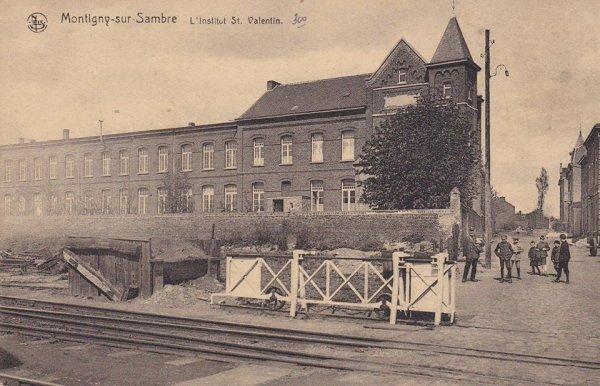 Les écoles congréganistes à Montignies.