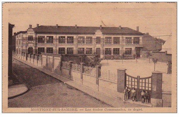 Les écoles officielles à Montignies.