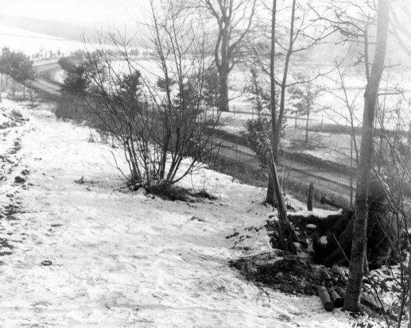 Une rentreé scolaire en janvier 1945.