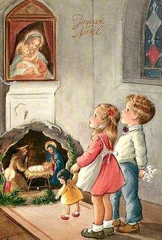 Fêter Noël jadis à Montigny.